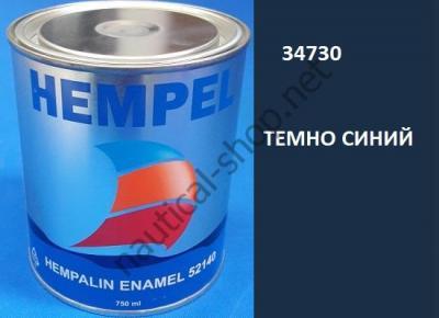 Краска алкидная Hempalin Enamel синий (0,75 л), 34730