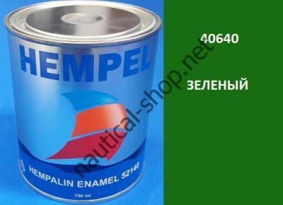 Краска алкидная Hempalin Enamel зеленый (0,2 л), 40640
