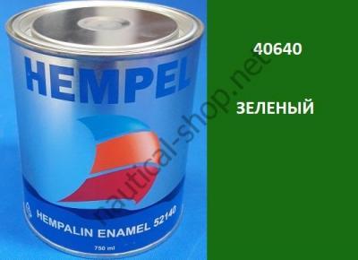 Краска алкидная Hempalin Enamel зеленый (0,75 л), 40640