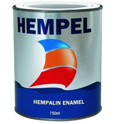 Краска алкидная Hempalin Enamel зеленый (5 л), 40980
