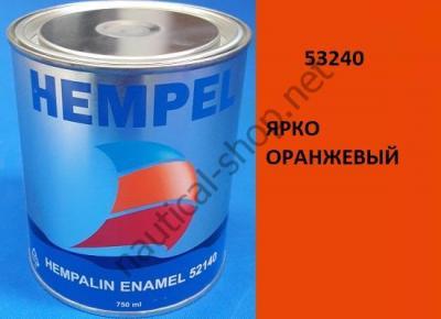 Краска алкидная Hempalin Enamel оранжевый (0,75 л), 53240