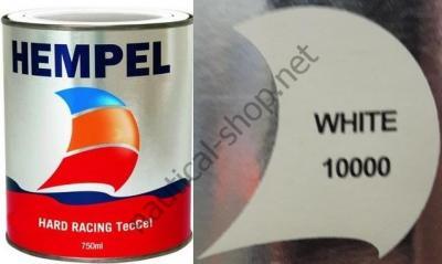 Краска необрастающая HEMPEL HARD RACING белый (0,75 л), 10000