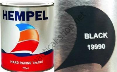 Краска необрастающая HEMPEL HARD RACING черный (0,75 л), 19990