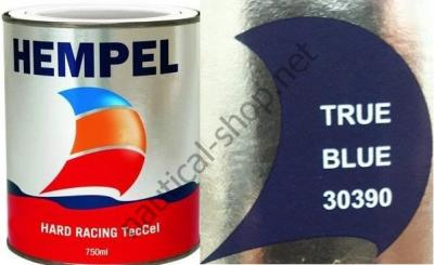 Краска необрастающая HEMPEL HARD RACING синий (0,75 л), 30390