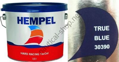 Краска необрастающая HEMPEL HARD RACING синий (2,5 л), 30390