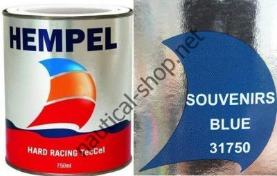 Краска необрастающая HEMPEL HARD RACING голубой (0,75 л), 31750