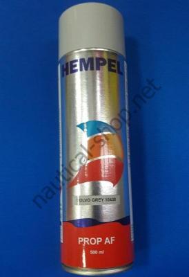 Краска необрастающая в аэрозоле Prop AF (0,5 л) серый Hempel, 712EX - 10430