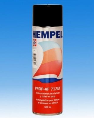 Краска необрастающая в аэрозоле Prop AF (0,5 л) черный Hempel, 712EX - 19990