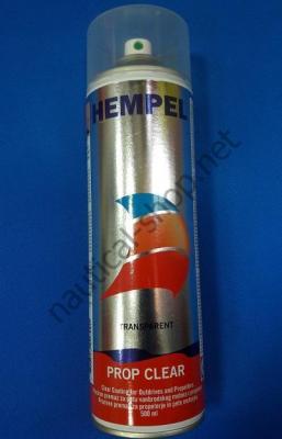 Краска необрастающая в аэрозоле Prop AF (0,5 л) прозрачный Hempel, 076EX