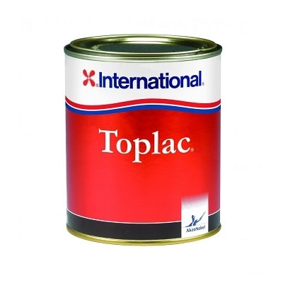 Краска силикон-алкидная Toplac белый - 545 (2,5 л), YKA184/2,5LT