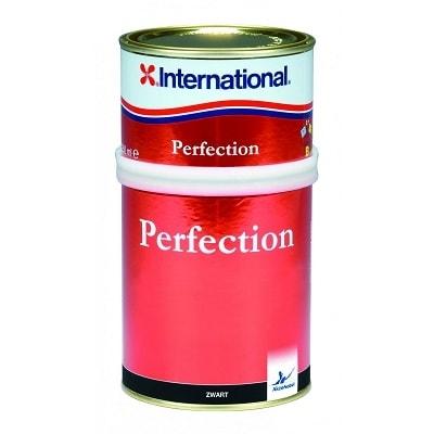 Краска полиуретановая двухкомпонентная Perfection черный - Y999 (0,75 л), YHY999/A750ML