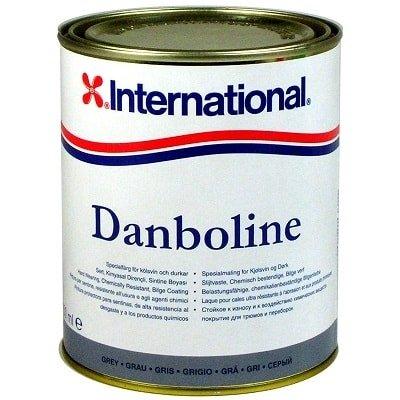 Защитная краска для трюмов и днища Danboline белый - 001 (2,5 л), YMA102/2,5LT