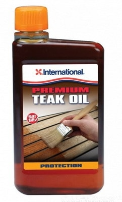Тиковое масло Premium (4 л), YMB645/4AZ