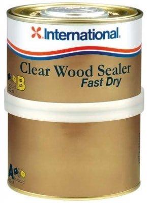 Грунт пропитка порозаполнитель для дерева Clear Wood Sealer Fast Dry (0,75 л), YVA327/A750ML