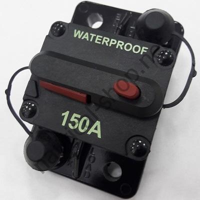 Водонепроницаемый автоматический выключатель 150 А на лодку, катер, яхту, 02.751.15