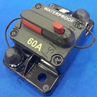 Герметичный автоматический выключатель 60 А, 02.751.60