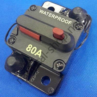 Водонепроницаемый автоматический выключатель 80 А, 02.751.80