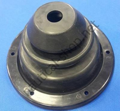 Манжета резиновая для проводки троса с прижимным кольцом из АБС-пластика 140 мм, 03.409.01