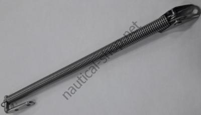 Стойка фиксации люков на пружине 220 мм, 38.421.65
