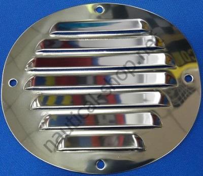 Овальная вентиляционная решетка, 116х128 мм, 53.022.01