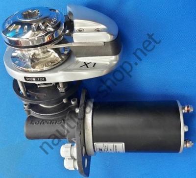 Вертикальная якорная лебедка, шпиль PROJECT X1: 500 Вт 12 В, 409557