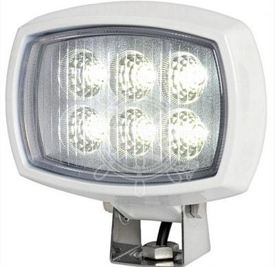 Ориентируемый светодиодный прожектор, 6HD, с креплением на трубу, 13.312.00