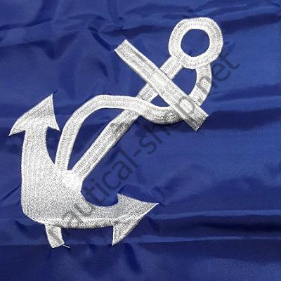"Флаг ""Port Captain"" 30х45 см, вышивка якорь, 93155"