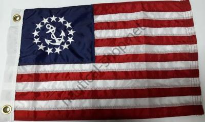 """Флаг США """"U.S. Yacht Ensign"""" 30х45 см, 8118"""