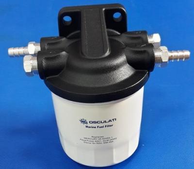 Топливный фильтр-сепаратор в алюминиевом корпусе, 10 микрон, 17.660.41