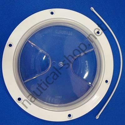 Инспекционный лючок прозрачный, 145 мм, 20.204.01