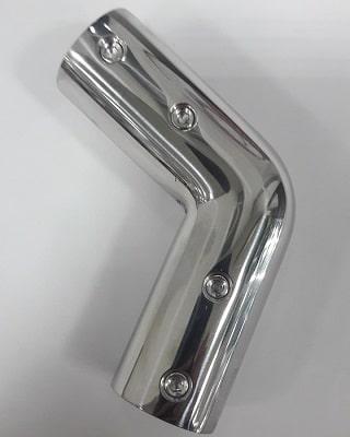 Соединение для рейлинга угловое 22 мм, 110°, 41.118.22