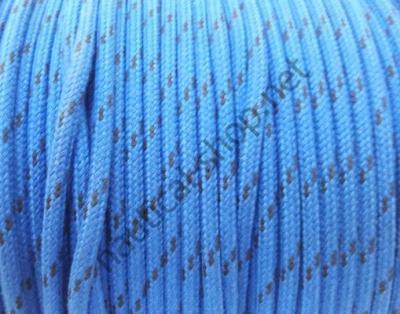 Шкотовый трос Mattbraid, 6 мм, синий, 06.437.06BL