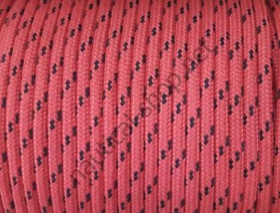 Шкотовый трос Mattbraid, 8 мм, красный, Osculati 06.437.08RO