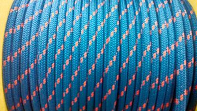 Шкотовый трос Mattbraid, 10 мм, синий, 06.437.10BL