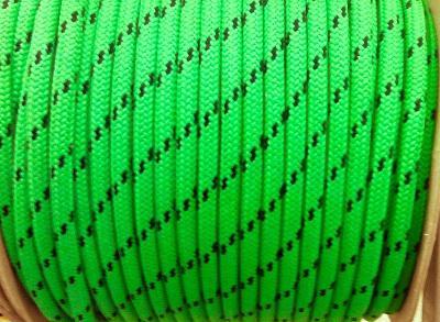 Шкотовый трос Mattbraid, 12 мм, зеленый цвет, 06.437.12VE
