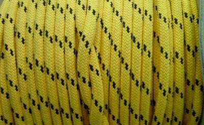 Шкотовый трос Mattbraid, 12 мм, желтый, 06.437.12GI