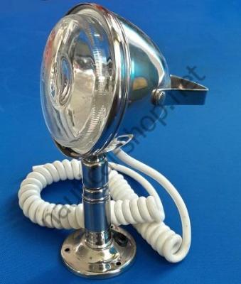 Прожектор с поворотным основанием, нержавеющий, 12 В, 55 Вт, 90737