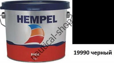 Краска необрастающая HEMPEL'S BASIC черный (2,5 л), 76111-19990/2500