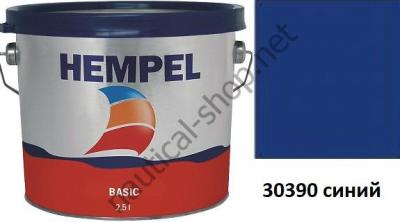 Краска необрастающая HEMPEL'S BASIC темно синий (2,5 л), 76111-30390/2500