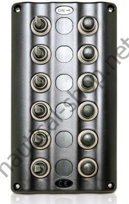 Панель управления Splash с подсветкой на 6 тумблеров, 50770-6