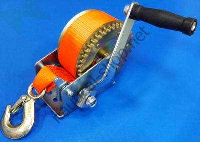 Ручная трейлерная лебедка на нагрузку 700 кг с фалом 7 м для лодочного прицепа, 90121-702
