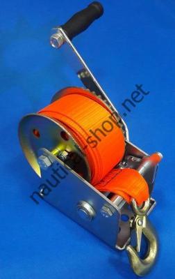 Ручная лебедка для лодочных прицепов с рабочей нагрузкой 800 кг с фалом, 90121-802