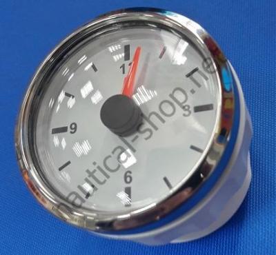 Кварцевые водонепроницаемые часы с белым циферблатом, 27.322.27