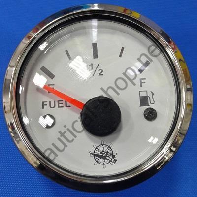 Указатель уровня топлива водонепроницаемый белый, 240-33 Ом, 27.322.01