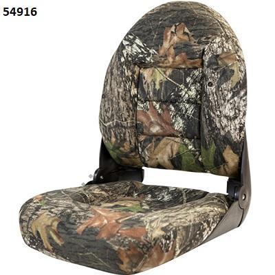 Кресло складное лодочное Tempress Navistyle High-Back CAMO_камуфляж Mossy Oak Shadowgrass 54916