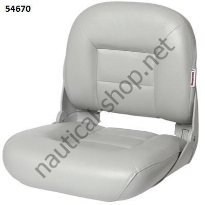 Кресло складное лодочное Tempress Navistyle Low-Back_светло-серое