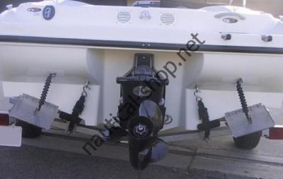 Транцевые плиты Smart Tabs из нержавеющей стали для катера от 3,5 м до 5 м, ST980-40
