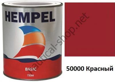 Краска необрастающая HEMPEL'S BASIC красный (0,75 л), 76111-50000/750