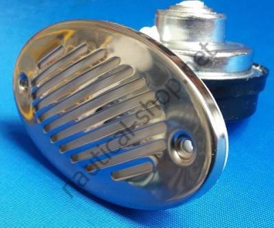 Горн врезной FIAMM с нержавеющей накладкой, 115 dB, 21.100.20