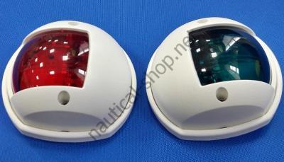 Навигационные огни Compact Sphera вертикального крепления, белый цвет, 11.408.11/22